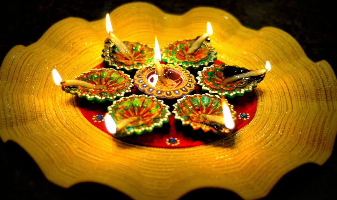 Celebrating Diwali Always! | Happy Diwali Greeting card image