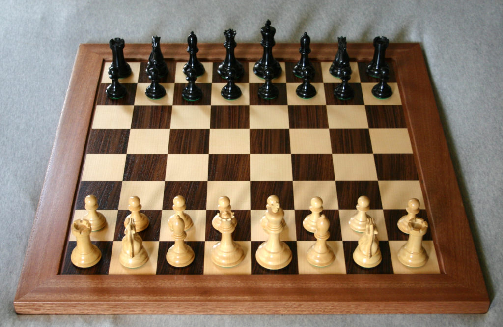 Spiritual Inspirations from Chess board image