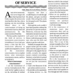 Page 1/4 of 'Consciousness of being an Instrument of Service'
