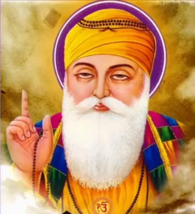 Happy Guru Nanak Jayanti Wishes | Guru Nanak Dev Ji's birthday | Guru Nanak Gurpurab image