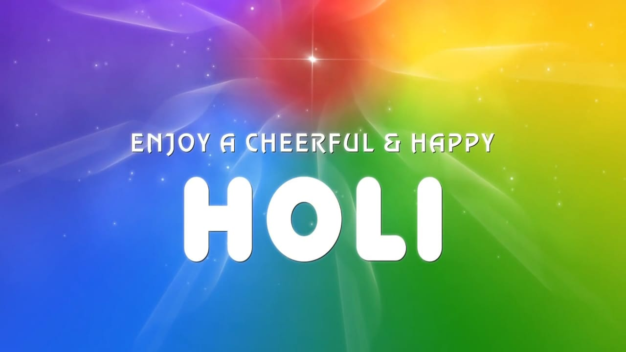 Spiritual Significance of Holi | The Festival of Colors | Happy Holi Wishes | Holi Festival essay HD image