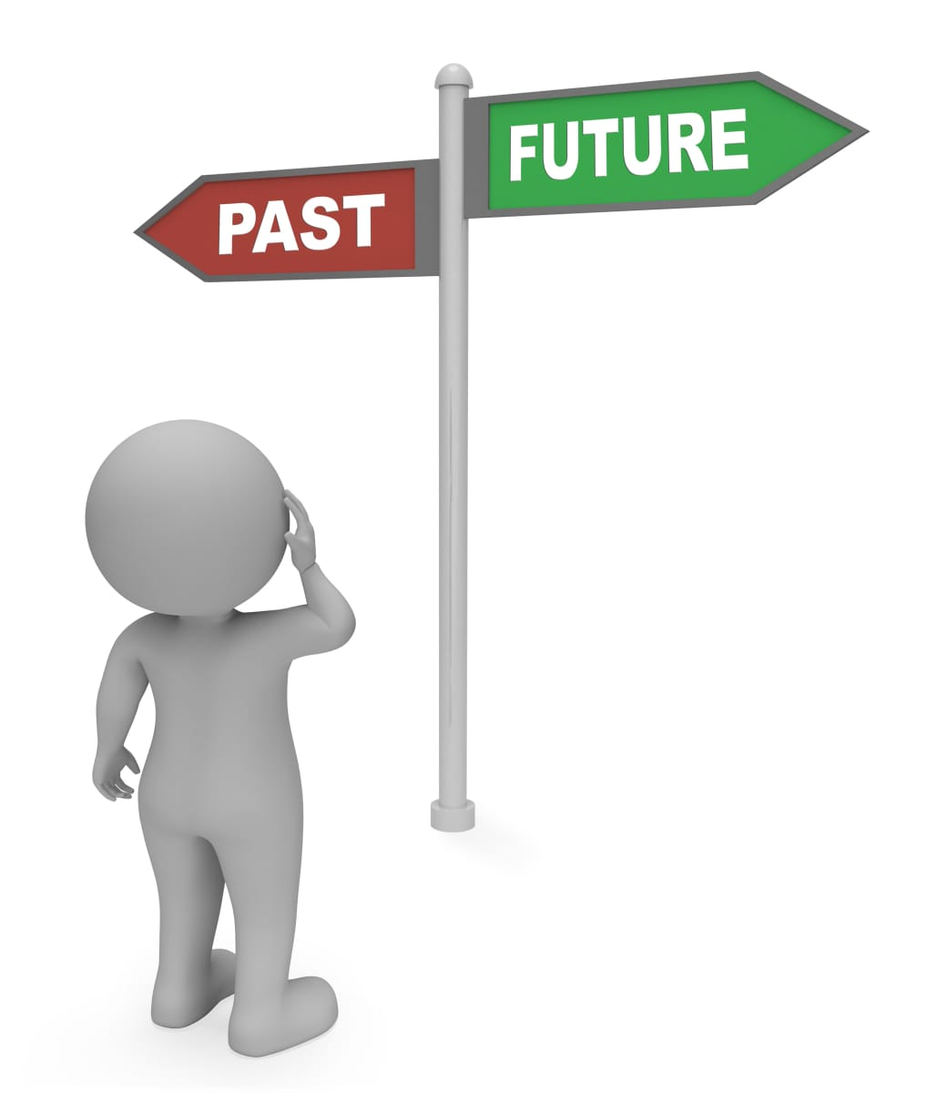 Is Happiness in the Past or Future | Remembering happy days image