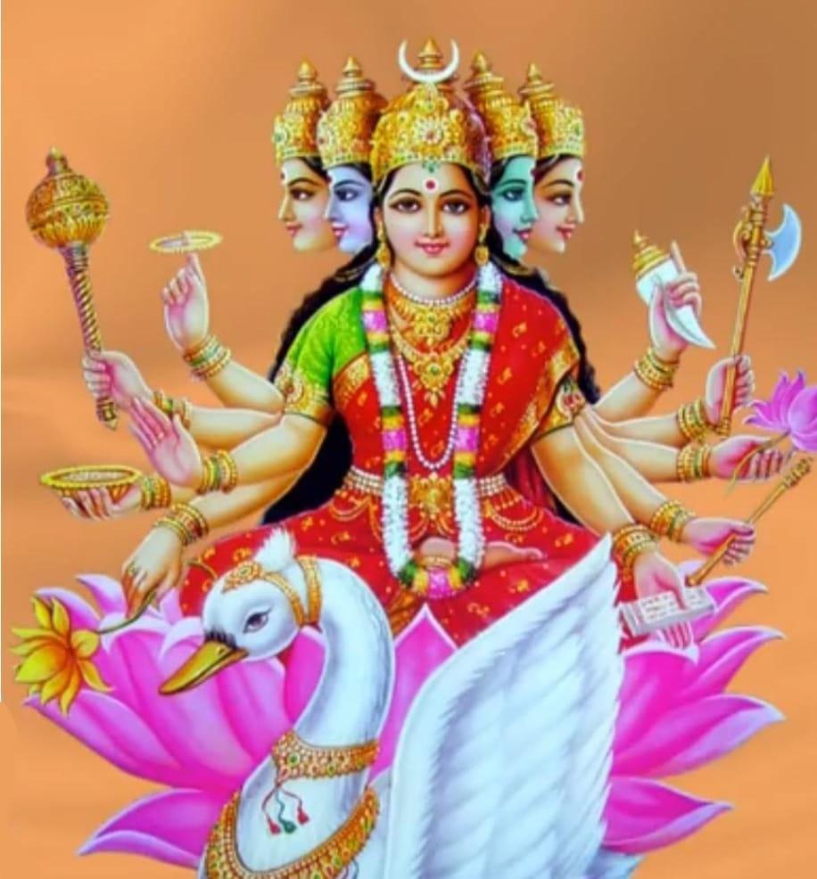 Spiritual Significance of Gayatri Mata | True Meaning of Gayatri Mata image