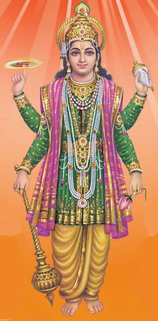 Spiritual Significance of Lord Vishnu image