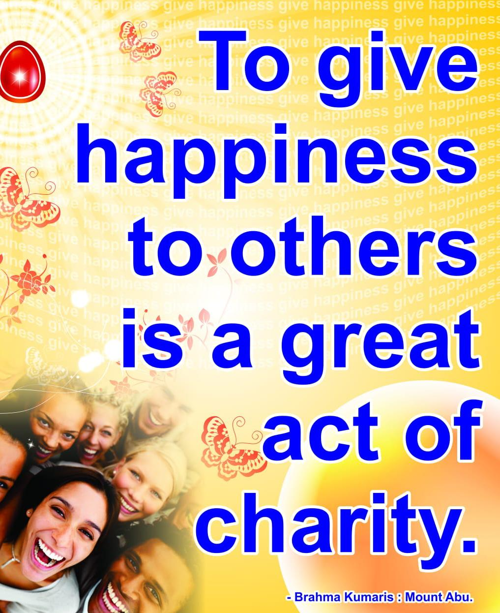 Spiritually Serving Others | The Joy of Giving quotes